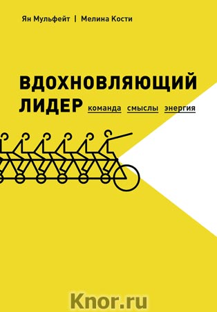 """Ян Мульфейт, Мелина Кости """"Вдохновляющий лидер. Команда. Смыслы. Энергия"""" Серия """"Бизнес"""""""