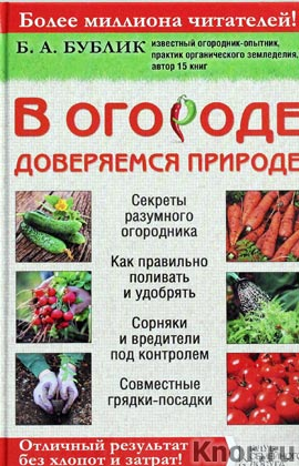 """Борис Бублик """"В огороде доверяемся природе"""""""