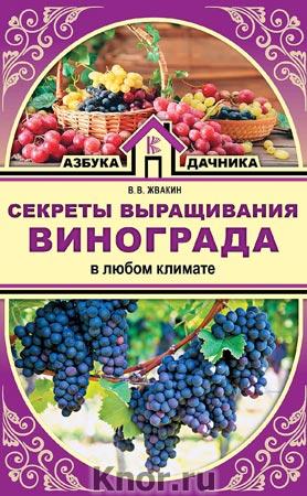 """Виктор Жвакин """"Секреты выращивания винограда в любом климате"""" Серия """"Азбука дачника"""""""