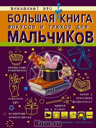 """Л.Д. Вайткене """"Большая книга фокусов и трюков для мальчиков"""" Серия """"Большая книга для мальчиков"""""""