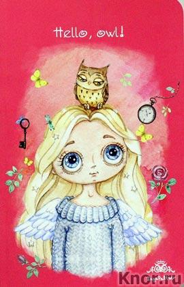 """Инга Пальцер """"Блокнот. Ангел. Hello, owl!"""" Серия """"Блокноты. Ангелы Инги Пальцер"""""""