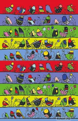 """Сказкотерапия. Блокнот для записей """"Веселые птички"""". Серия """"Арт-хобби. Блокноты и раскраски"""""""