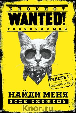 "П. Грунина ""Блокнот WANTED! Найди меня, если сможешь (yellow)"" Серия ""Блокнот-головоломка. WANTED! Найди меня, если сможешь"""