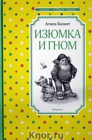 """Агнеш Балинт """"Изюмка и гном"""" Серия """"Чтение - лучшее учение"""""""
