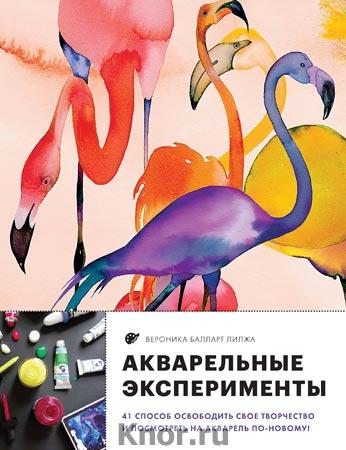 """Вероника Балларт Лилжа """"Акварельные эксперименты. 41 способ освободить свое творчество и взглянуть на акварель по-новому! (фламинго)"""" Серия """"Рисование, которое вдохновляет. Стили, идеи и техники"""""""