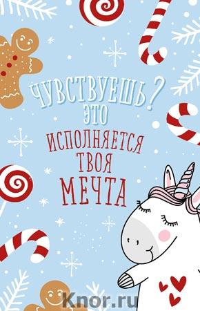 """Блокнот. Новогодние единороги (Исполняется твоя мечта!). Серия """"Блокноты. Тут живет единорог"""""""