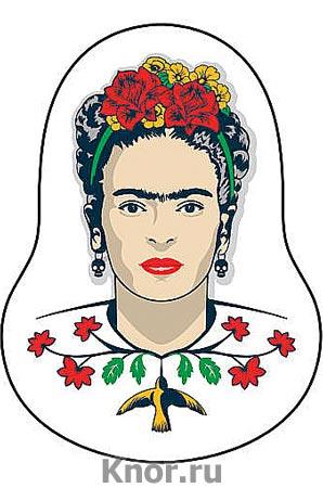 """Деревянный значок. Фрида Кало. Серия """"Коллекция Frida - Фрида Кало"""""""