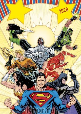 """Вселенная DC Comics. Календарь настенный-постер на 2020 год. Серия """"Календари настенные 2020 (постеры)"""""""