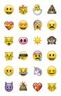"""Набор наклеек. Эмодзи (формат А5, в пакете). Серия """"Вселенная Emoji-Эмодзи"""""""