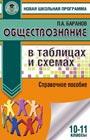 """П.А. Баранов """"Обществознание в таблицах и схемах. Справочное пособие. 10-11 классы"""" Серия """"Новая школьная программа"""""""