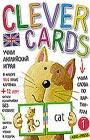 """Учим английский играя. Уровень 1 (набор карточек + книга). Серия """"Clever Cards"""""""