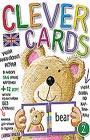 """Учим английский играя. Уровень 2 (набор карточек + книга). Серия """"Clever Cards"""""""