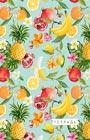 """Тропические фрукты. Тетрадь (B5, 40 листов). Серия """"Тетради студенческие"""""""