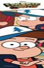 """Гравити фолз. Закладка с резинкой. Выпуск 1. Серия """"Вселенная Gravity Falls-Гравити Фолз"""""""