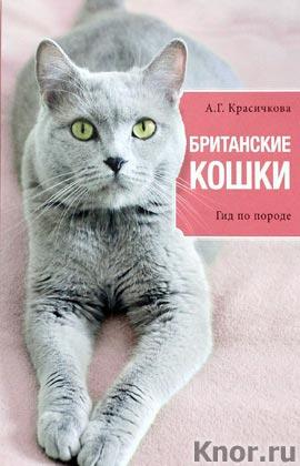 """А.Г. Красичко """"Британские кошки"""" Серия """"Все о домашних питомцах"""""""