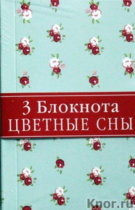 """Блокнот для записей """"Голубые сны"""" (3 блокнота). Серия """"Блокноты. Цветные сны"""""""