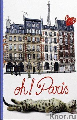 """Кот в Париже. Серия """"Блокноты. Париж! Париж!"""""""