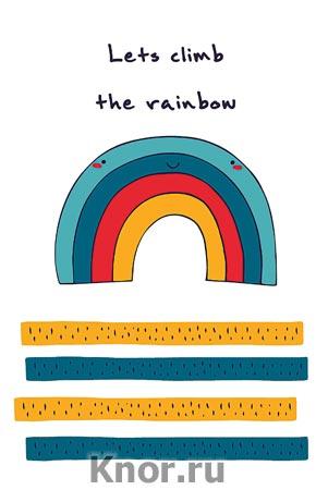 "Блокнот для записей ""Let's climb the rainbow"". Серия ""Блокноты Like"""