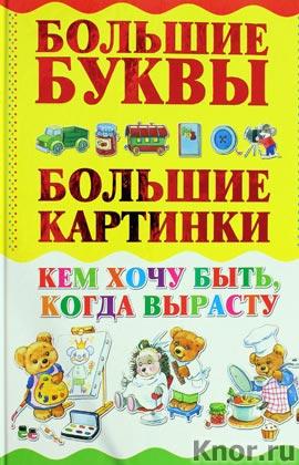 """И. Александров """"Кем хочу быть, когда вырасту"""" Серия """"Самые большие буквы, самые большие картинки"""""""