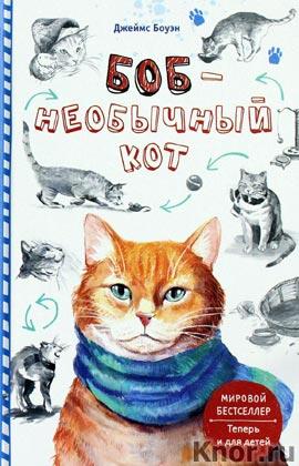 """Джеймс Боуэн """"Боб - необычный кот"""""""