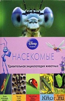 """Насекомые. Серия """"Disney. Удивительная энциклопедия животных"""""""