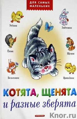 """Анжела Берлова """"Котята, щенята и разные зверята"""" Серия """"Для самых маленьких"""""""