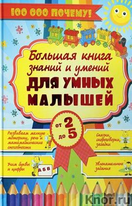 """Большая книга знаний и умений для умных малышей. От 2 до 5 лет. Серия """"100 000 почему"""""""