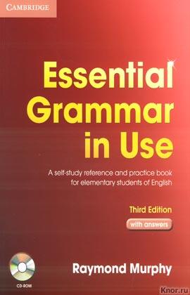 "Raymond Murphy ""Essential Grammar In Use. Third Edition"" + CD-диск (красная)"
