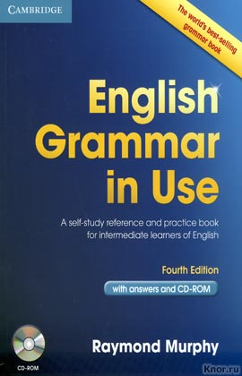 "Raymond Murphy ""English Grammar In Use. With answers. Fourth Edition"" + CD-диск (синяя)"