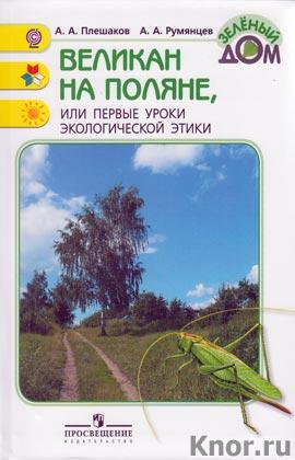"""А.А. Плешаков, А.А. Румянцев """"Великан на поляне, или первые уроки экологической этики. Пособие для учащихся общеобразовательных учреждений"""""""