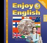 """CD-диск. Аудиоприложение к учебнику """"Английский с удовольствием. Enjoy English"""" для 6-го класса, MP3"""