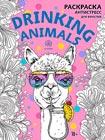 """Drinking animals. Раскраска-антистресс. Серия """"Арт-терапия. Раскраски-антистресс. Раскраски для взрослых"""""""
