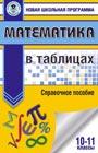 """Математика в таблицах. 10-11 классы. Серия """"Новая школьная программа"""""""